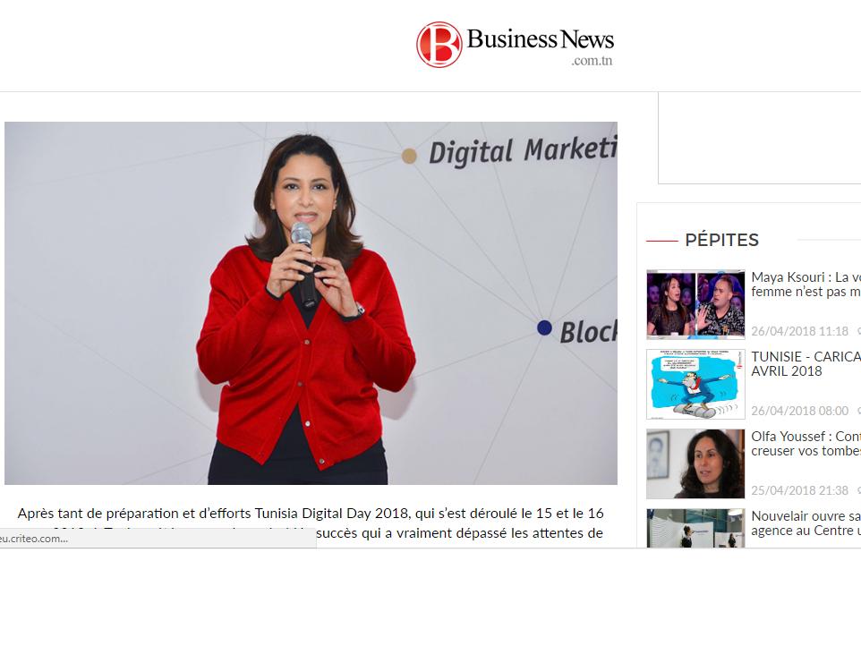 Digital technology Marketing, Ines Nasri, BusinessNews Post