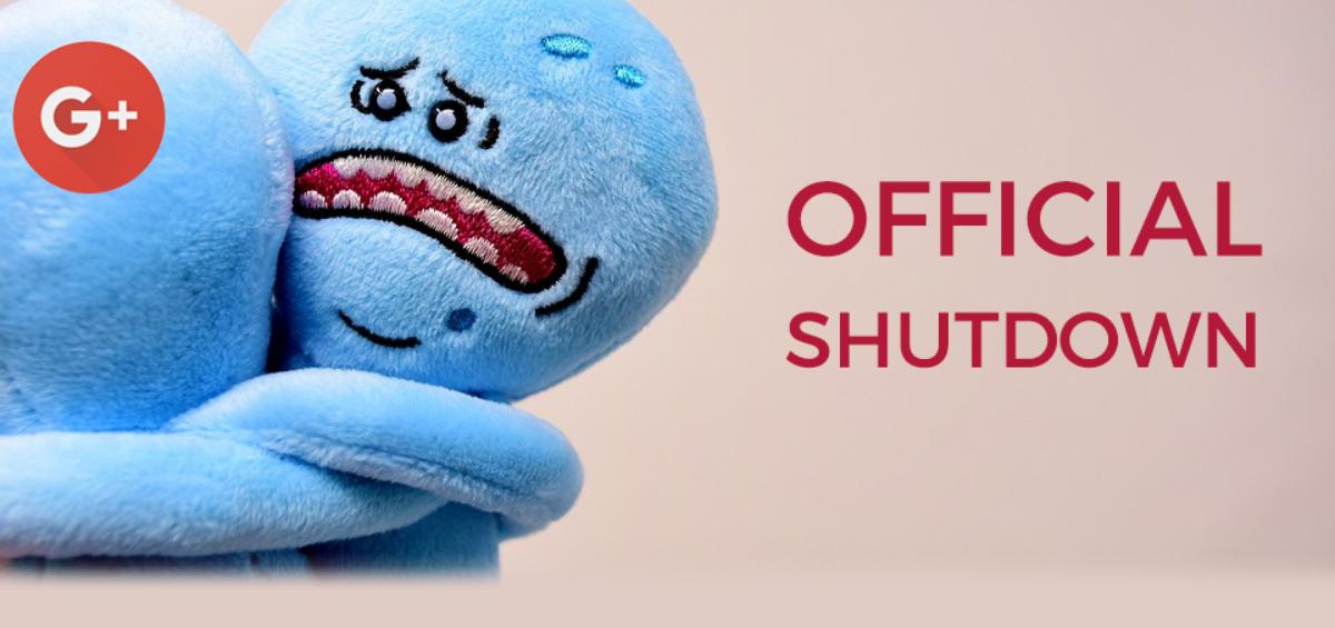 Official Shuttdown google +