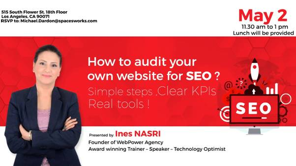 Auditing websites for SEO with KPIs and tools Workshop