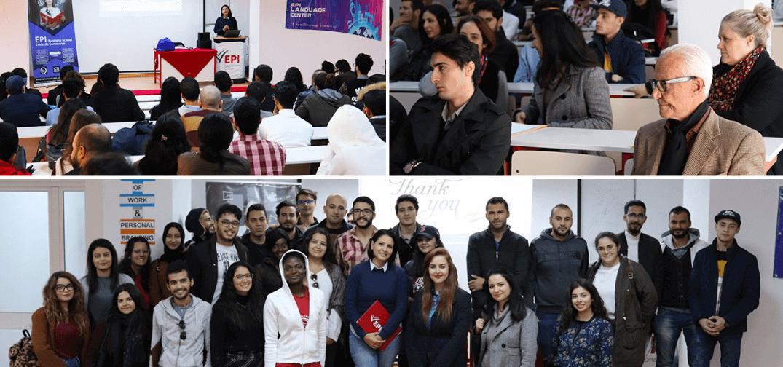 The Future of Work and personal branding Training Ines Nasri