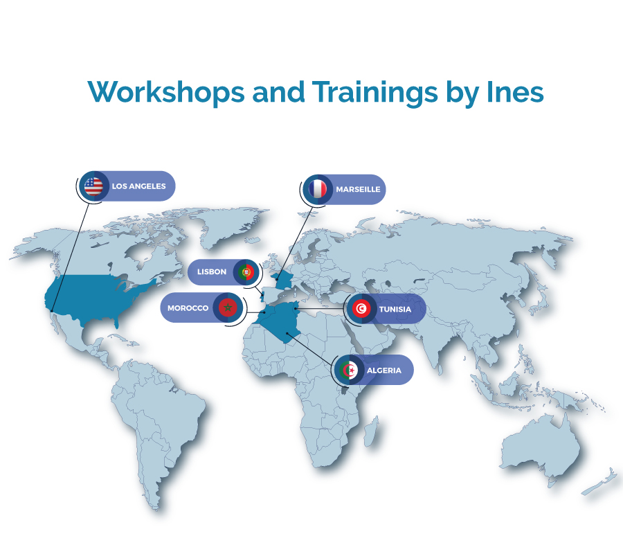 WorkShops and Training By Ines Nasri