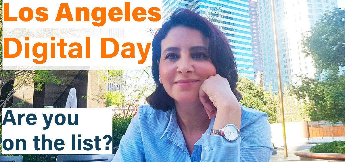 Los Angeles DIGITAL Day Ines Nasri