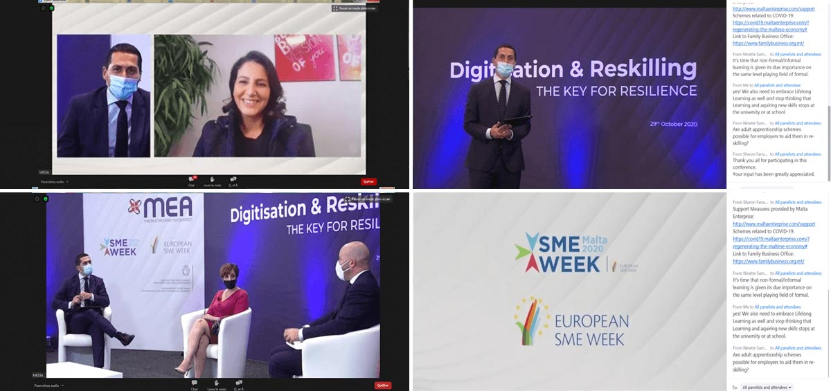 European SME WEEK 2020 Ines Nasri