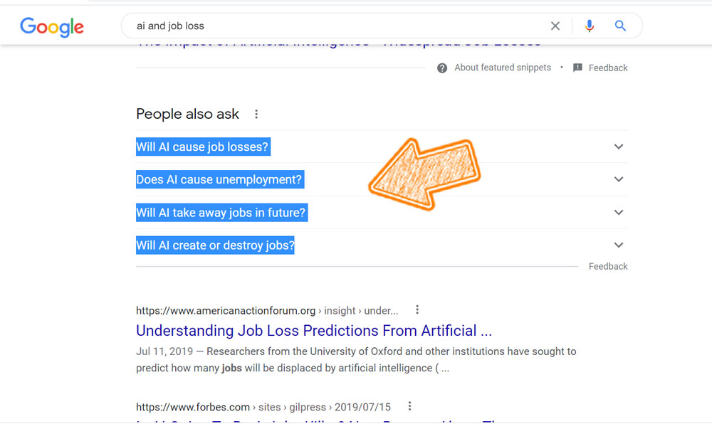 Artificial intelligence (AI)- job-loss