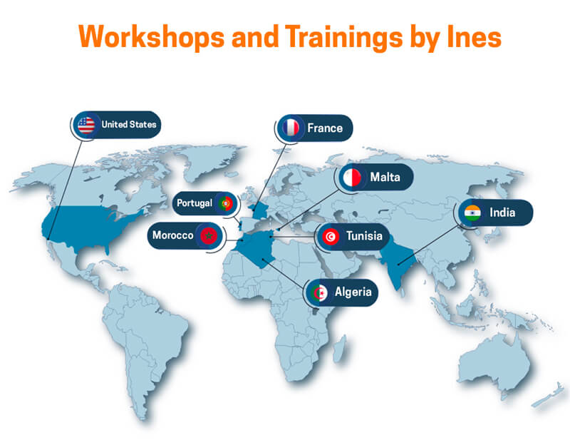 workshops training Ines Nasri